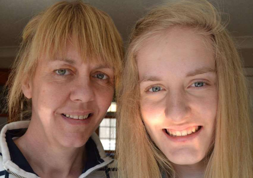 Mum and daughter Claire and Charlotte Hart who lost their lives in a shootings tragedy.