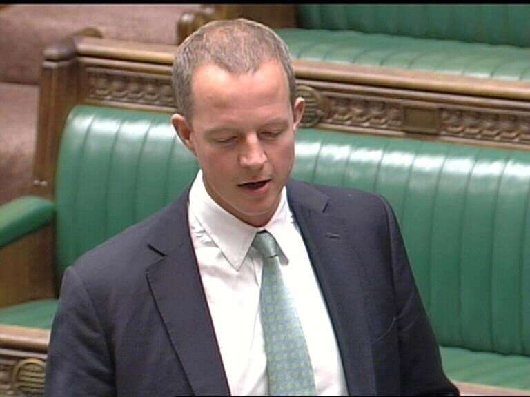 Nick Boles in the House. (13435491)