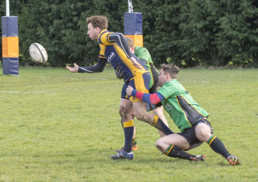 Bourne v Ecclesshall. Photo: LEE HELLWING