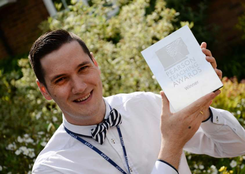 Uppingham Community College IT teacher Ray Chambers.