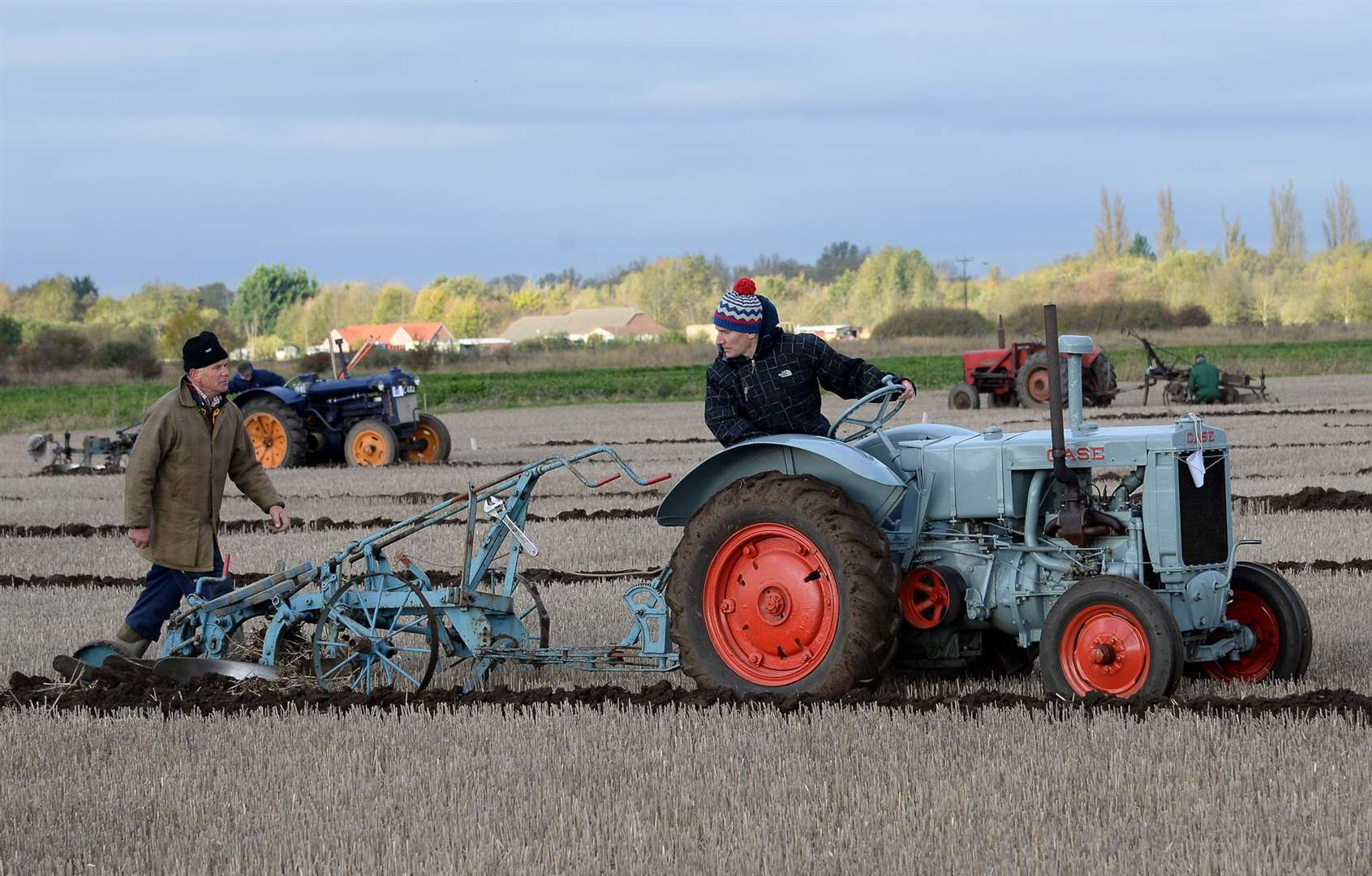 Classes include everything from vintage tractors and ploughs to modern day machinery Photo: David Pearson