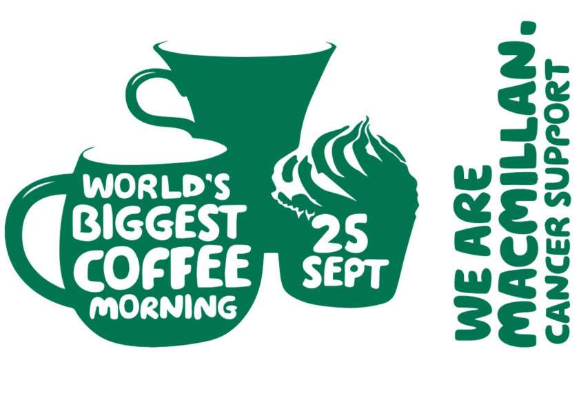 Macmillan Cancer Support's World's Biggest Coffee Morning, taking place on September 25, 2015. EMN-150918-093656001