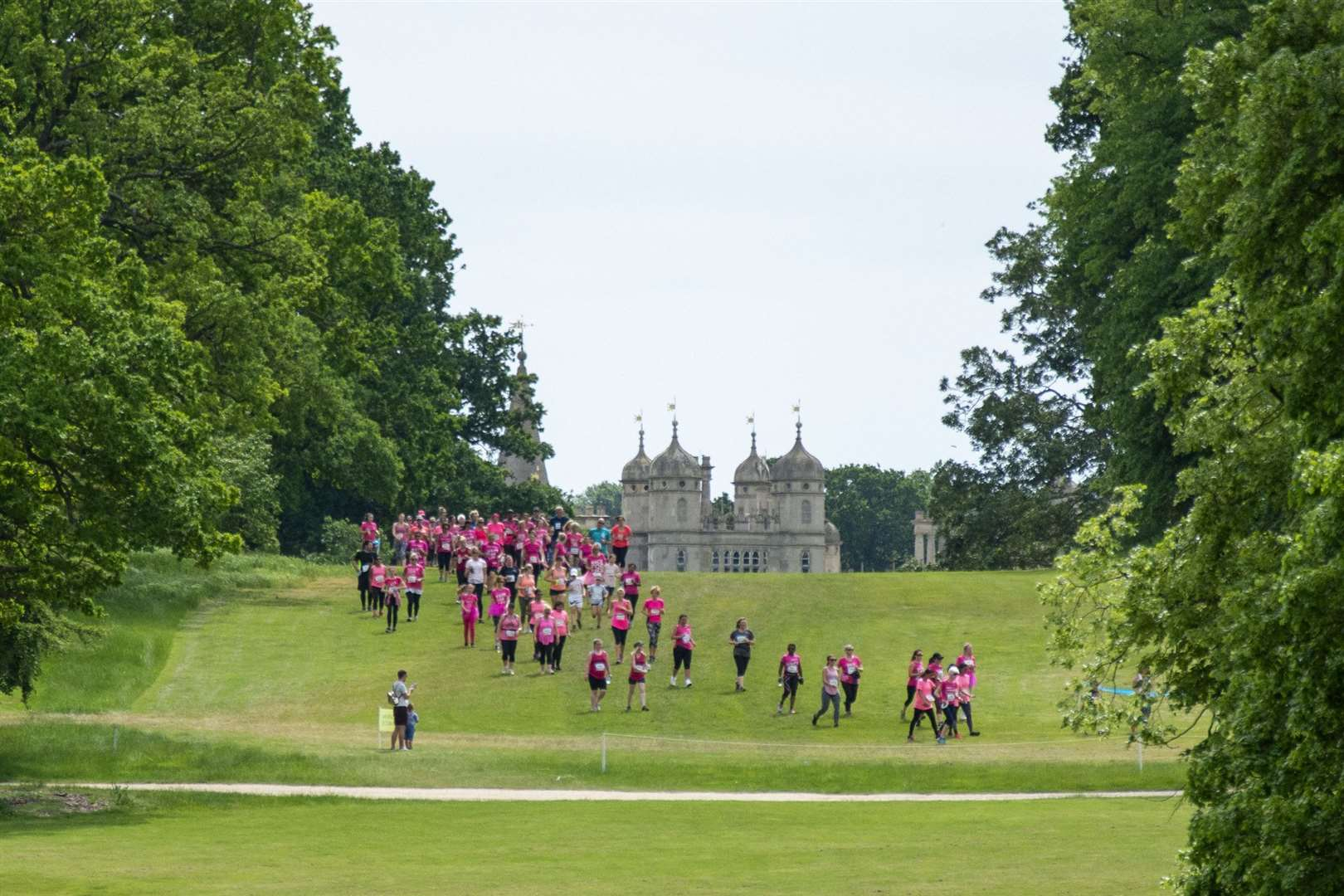 People take part in Race for Life in Stamford in 2019