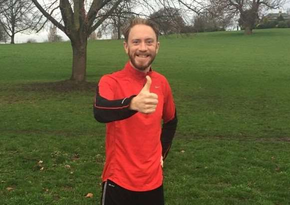 James Gorman is running the London Marathon this year in aid of the Derbyshire, Leicestershire and Rutland Air Ambulance after he was seriously hurt in a minibus crash as a teenager in 1999