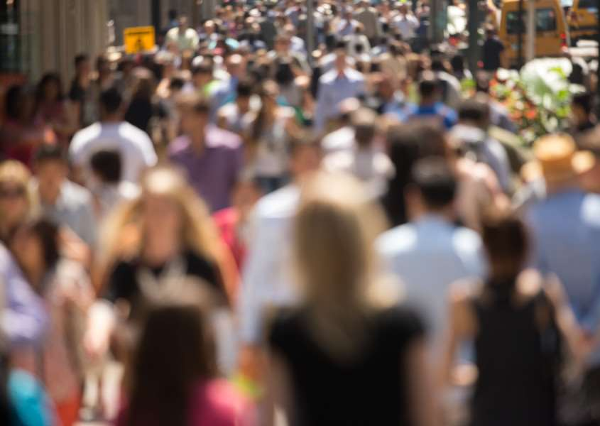 The population of the UK will jump by almost 10 million over the next 25 years, picture credit - blvdone/Shutterstock