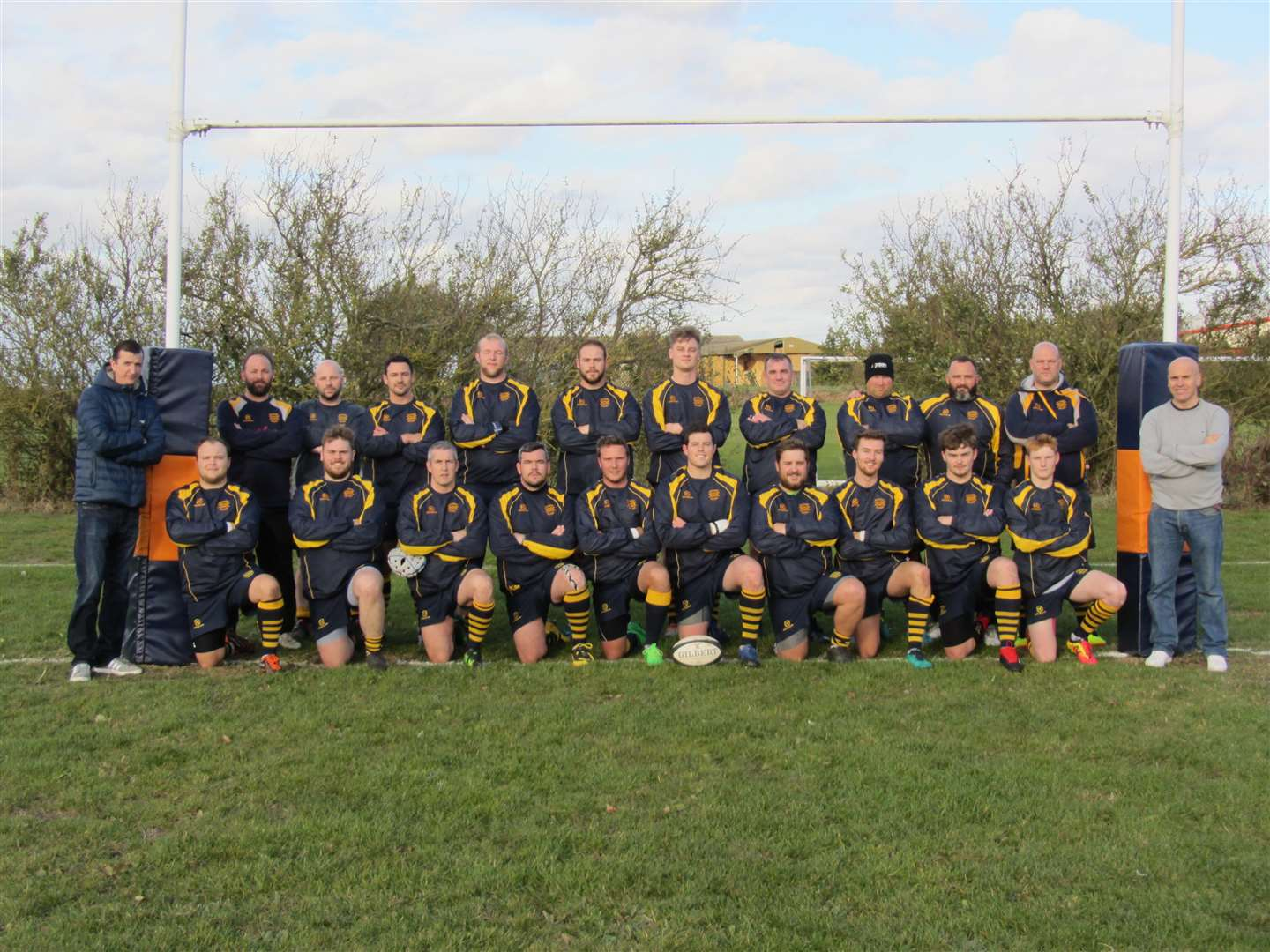Bourne Rugby Club are pictured before Saturday's success. (5199445)