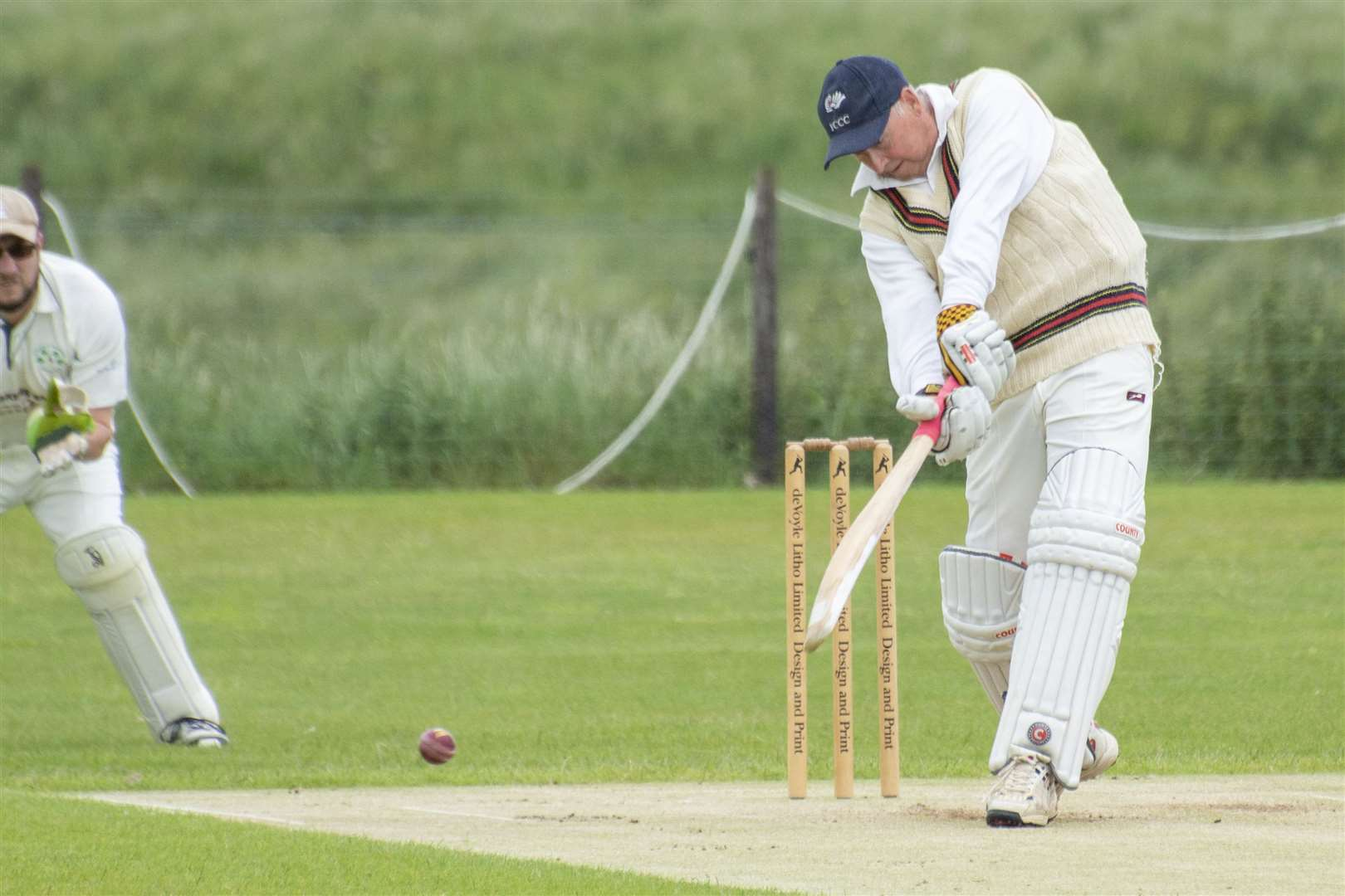 Action from Uppingham 3rds' home clash with Wakerley & Barrowden. Photo: Lee Hellwing (12569977)