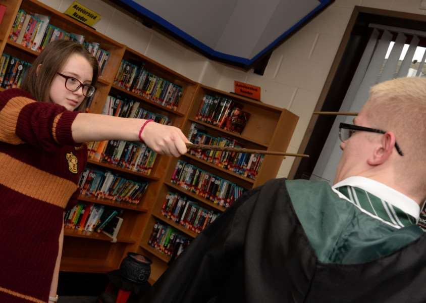 Harry Potter book night'Photo: Alan Walters