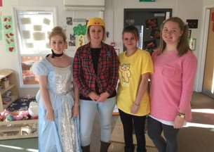 The children and practitioners at the Acorn Childcare centre all dressed up as their favourite film characters to raise money for children in need. EMN-161121-105823001