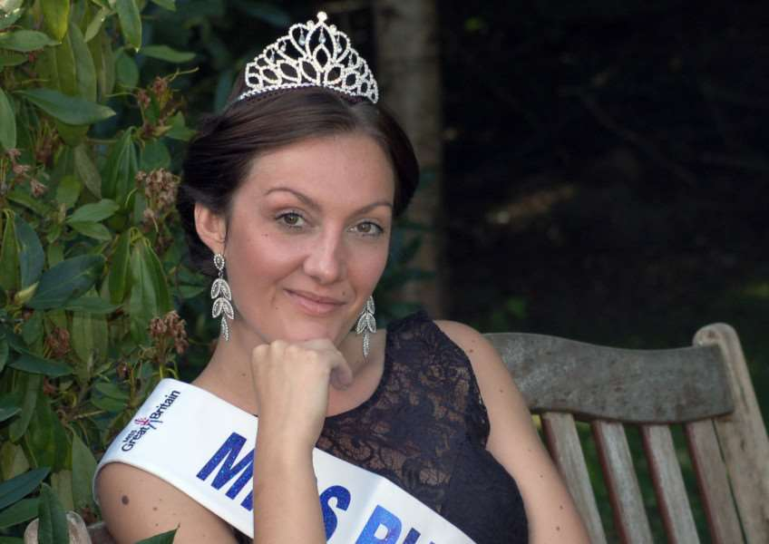 Chloe Jardine-Price, from Chadwell, near Melton, the reigning Miss Rutland who is competing in the finals of Miss Great Britain EMN-150709-130752001