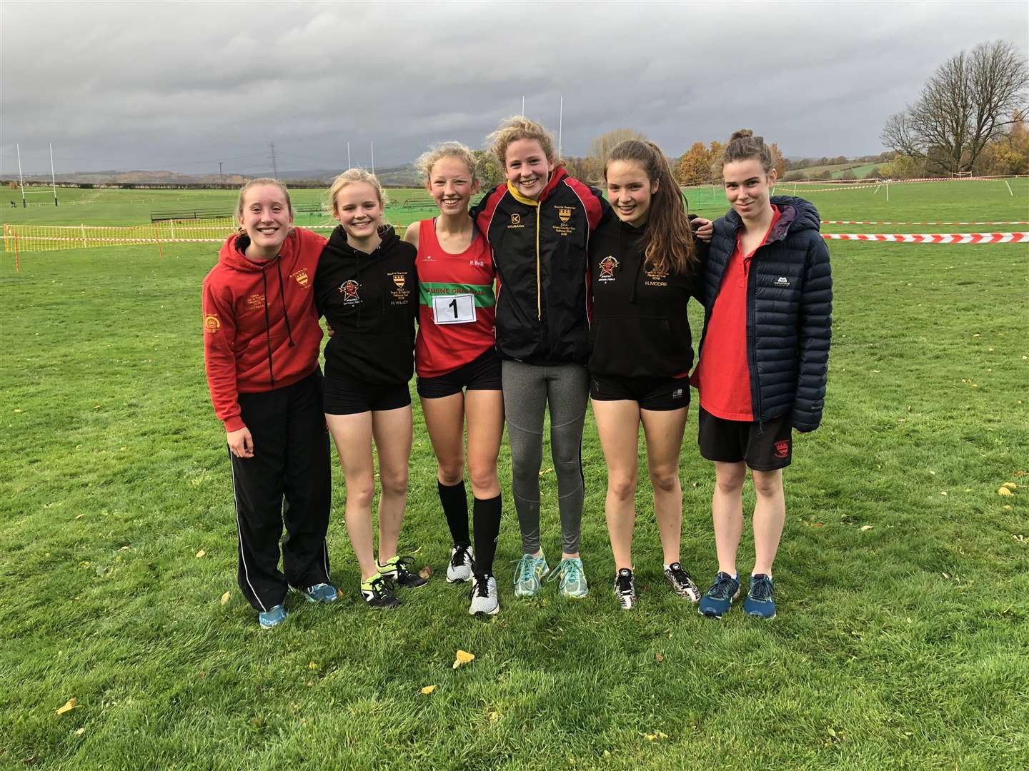 Bourne Grammar School at the regional cross-country championships. (5362462)