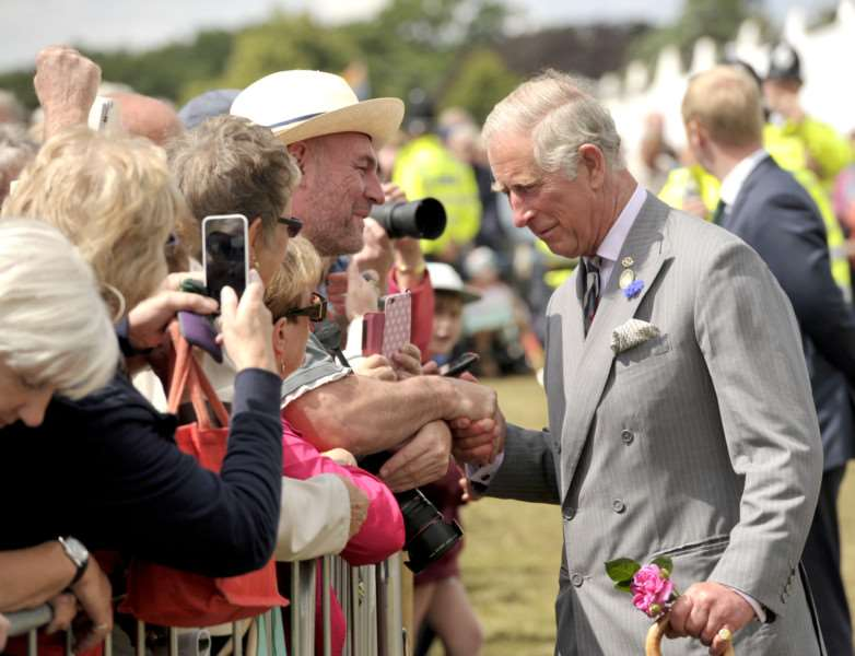 Sandringham Show with the Prince Charles and Camilla in attendance ANL-150729-161304009