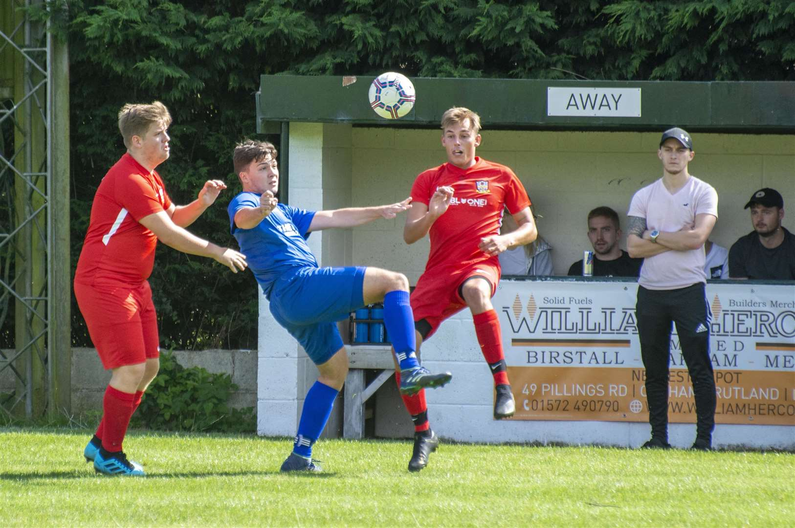 Cottesmore's Development side suffered a 3-1 opening day defeat against Newbold Verdon. Photo: Lee Hellwing (15490929)