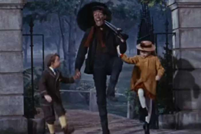 Dick Van Dyke in the original Mary Poppins film (Photo: YouTube)