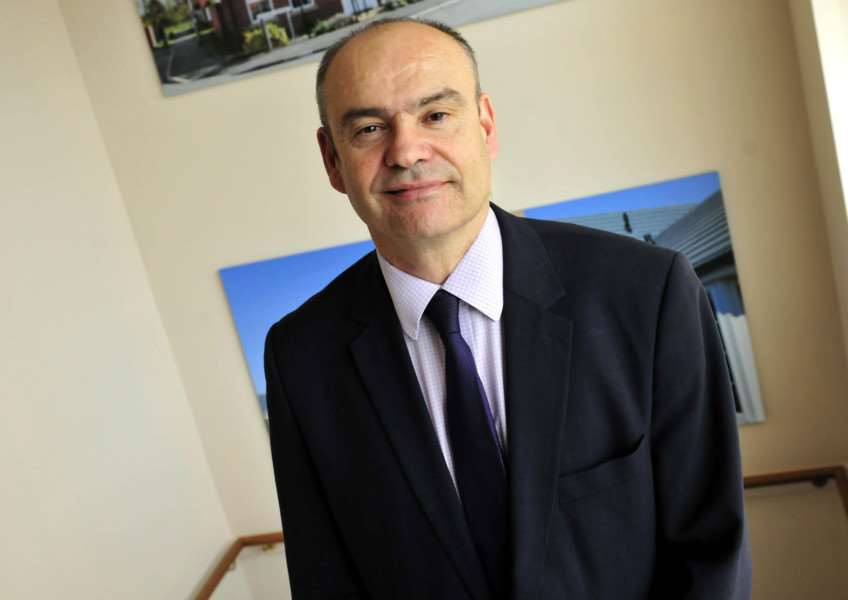 Karl Hick, chief executive of the Larkfleet Group.