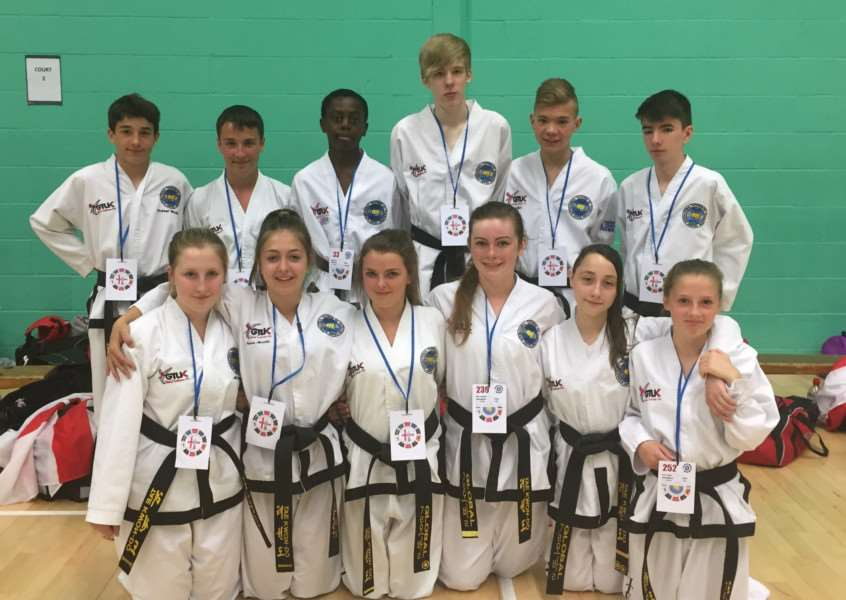 Action from Stamford and Oakham Taekwondo fighters at the World Championships EMN-150715-145715001