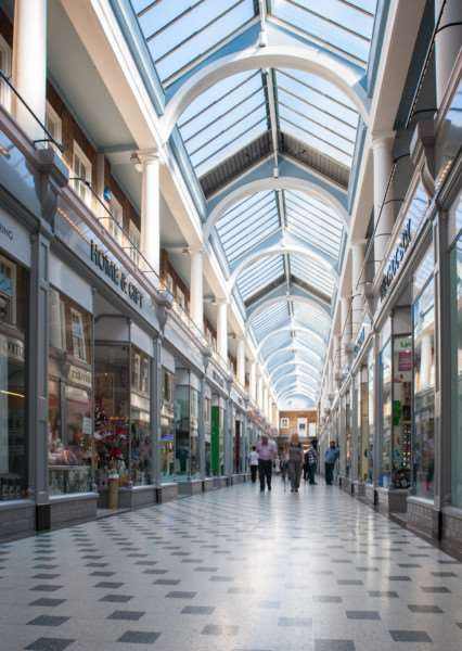 The refurbished Westgate Arcade in Peterborough. EMN-150824-133107001