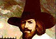 A painting of Guy Fawkes ENGYPN03820120611174442