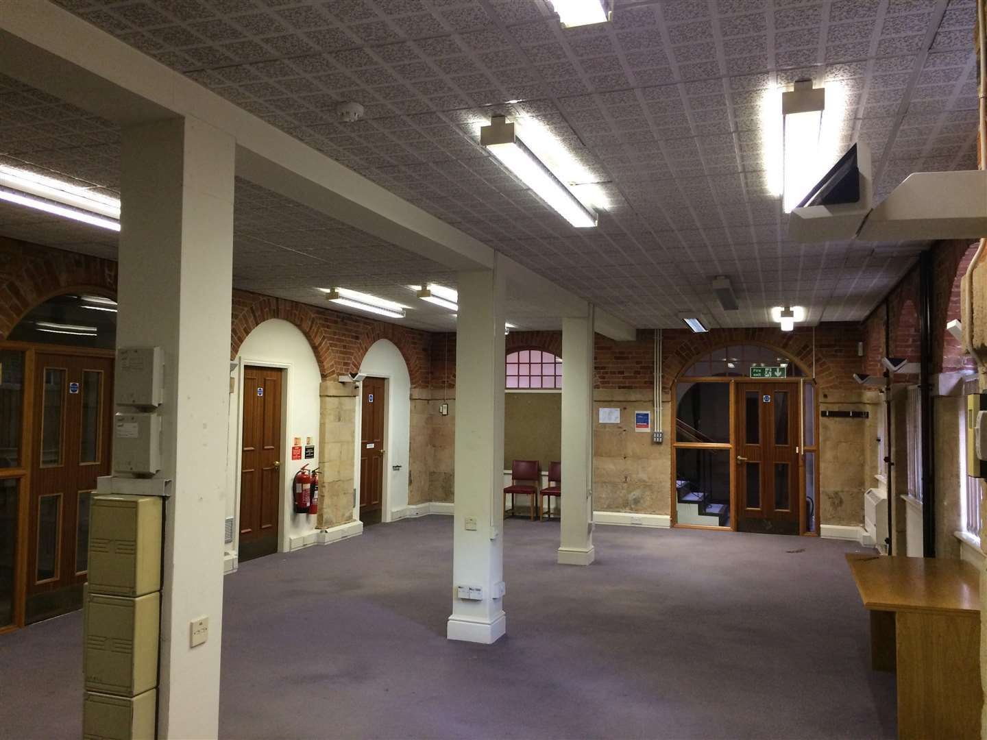 The Shambles area of Bourne Town Hall (6954358)