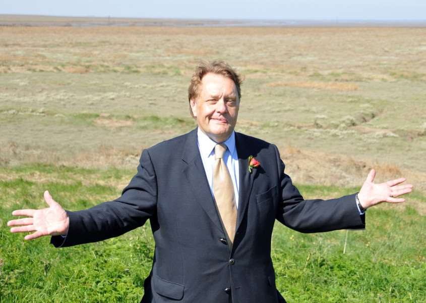John Hayes MP and Minister of State for Security. Photo by Tim Wilson.