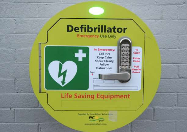 Large Tesco stores will now feature a defibrillator