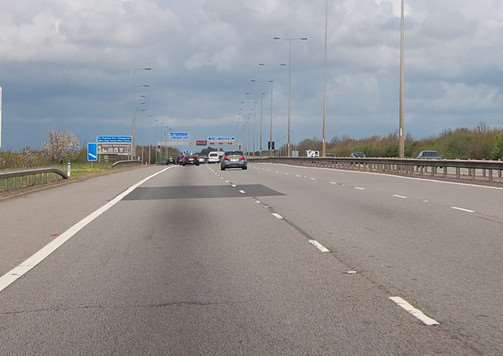 A1M near Peterborough