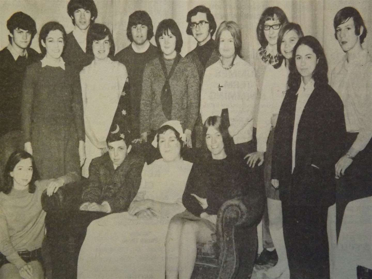 50 years ago: April 23, 1971 – The young casts of Stamford Congregational Church Youth Club's two plays, which they presented at the annual Eisteddfod this week.
