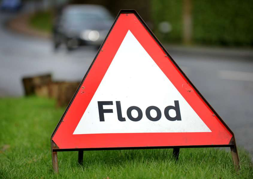 Flood warnings have been issued today by The Environment Agency.