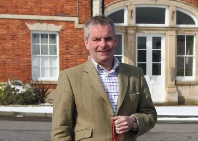 Leader of Lincolnshire County Council Coun Martin Hill.