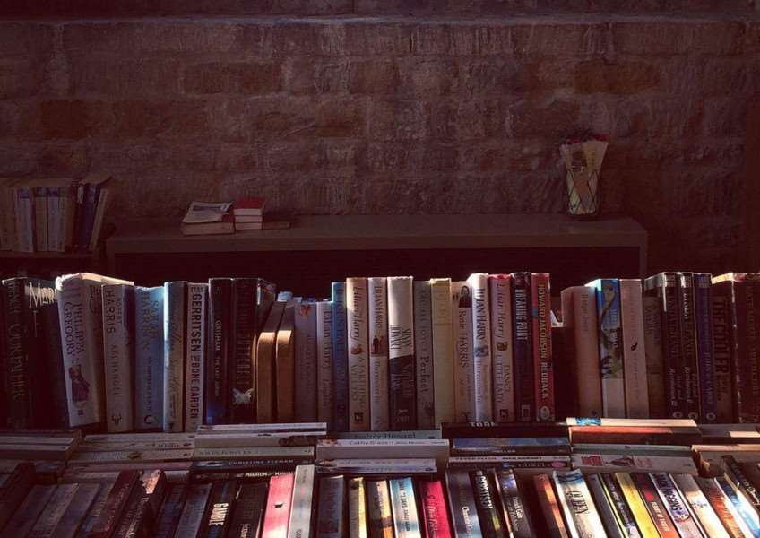 Books at Whisendine Church, Rutland