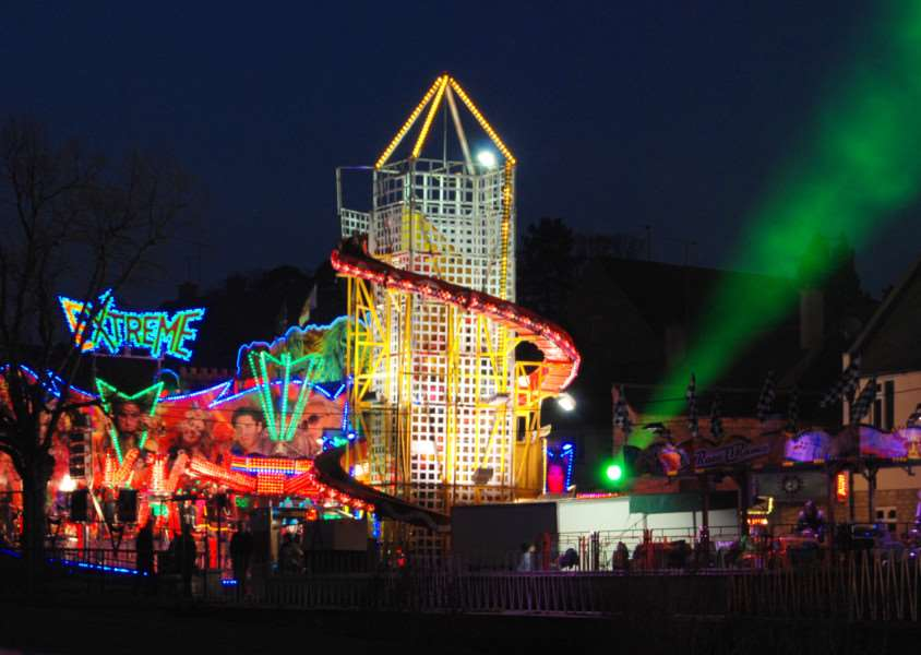 The Mid-Lent Fair in Stamford last year. Photo: Berry Parker of Cliff Road, Stamford
