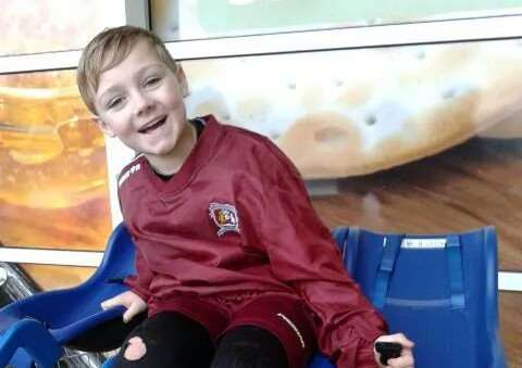 Zack King, from Deeping St James, who died aged nine from an asthma attack. EMN-141119-185412001