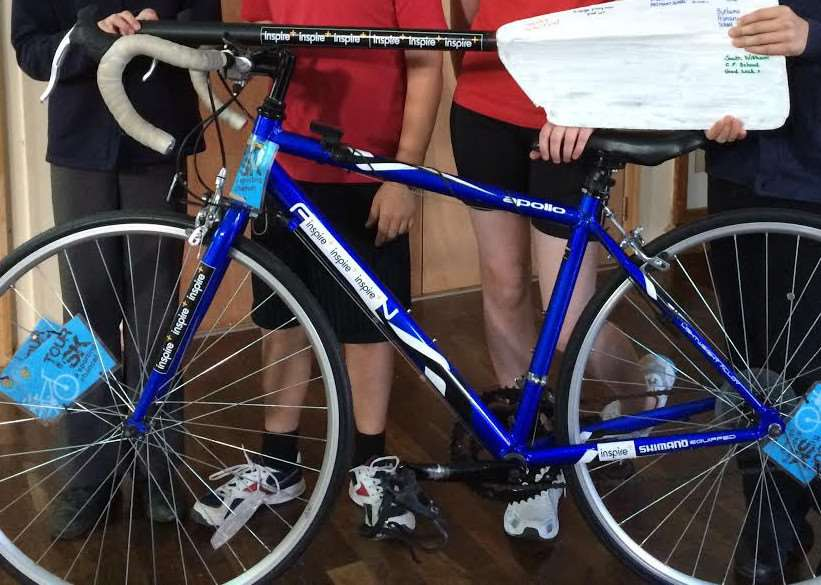 This bike was stolen from Grantham-based sports charity Inspire+.