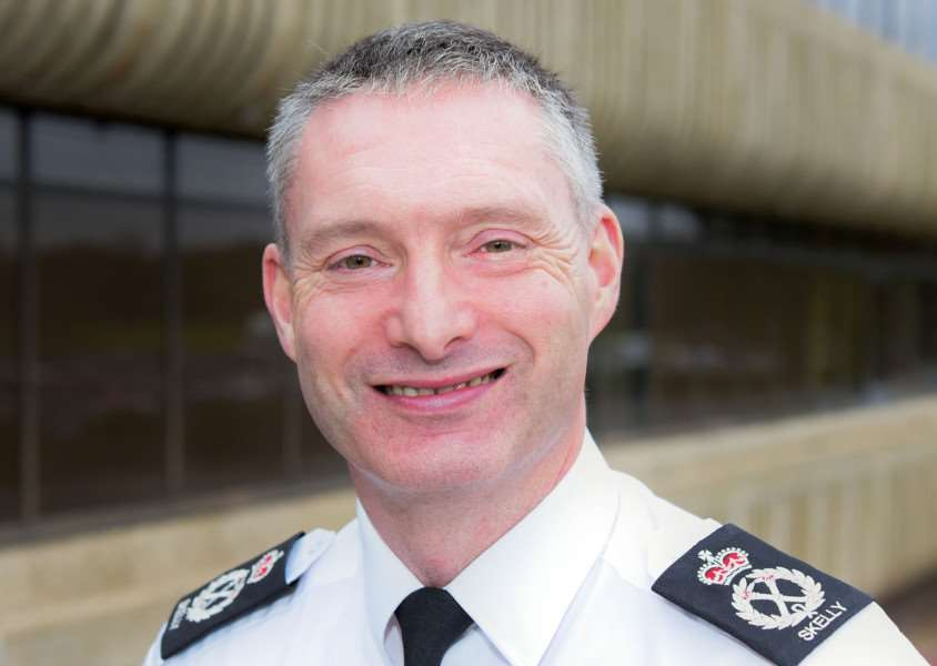 Chief Constable of Lincolnshire Bill Skelly. Photo: Martin Birks