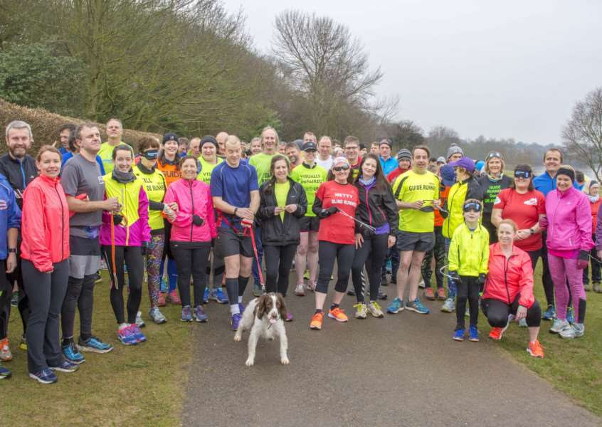 Rutland Water VI park run Photo: Lee Hellwing