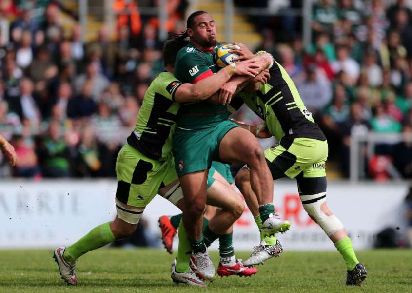 Leicester Tigers v Northampton Saints. Photo: David Davies/PA Wire EMN-150518-151512001