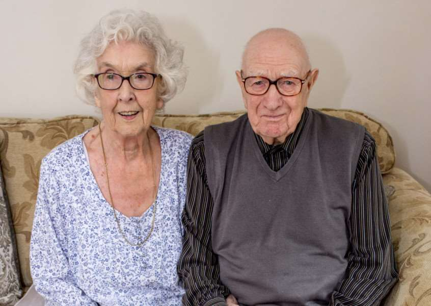 Margaret and Sam Leader have celebrated 65-years of marriage