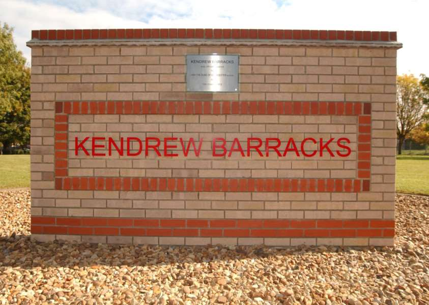 Kendrew Barracks, Cottesmore