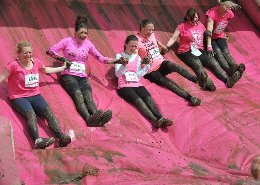 Pretty Muddy Race for Life event at East of England Showground EMN-150621-214813009