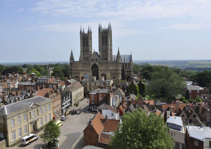 Lincoln Cathedral (Credit - University of Lincoln) ANL-160314-190206001