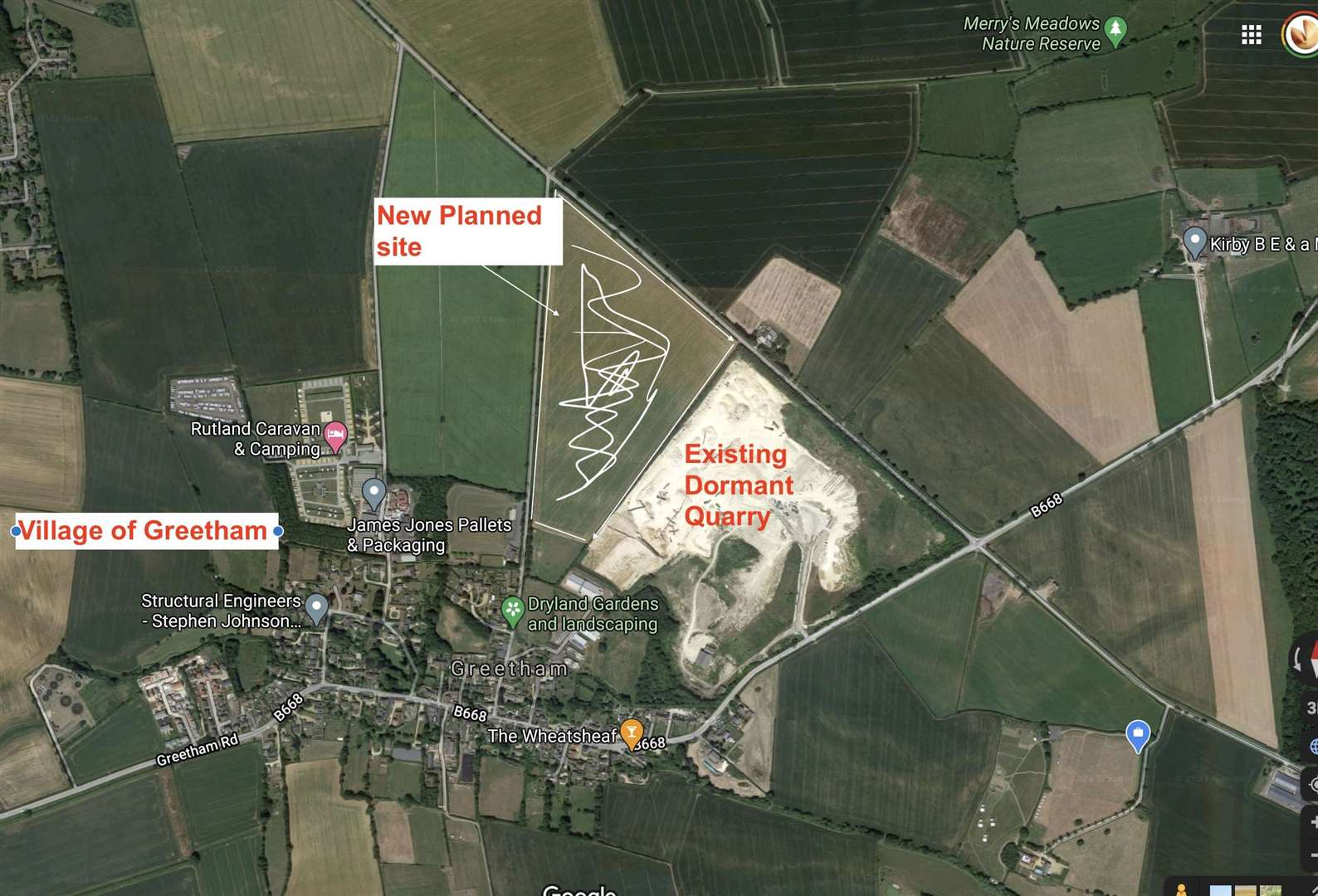 Planning permission has been granted to expand Greetham Quarry