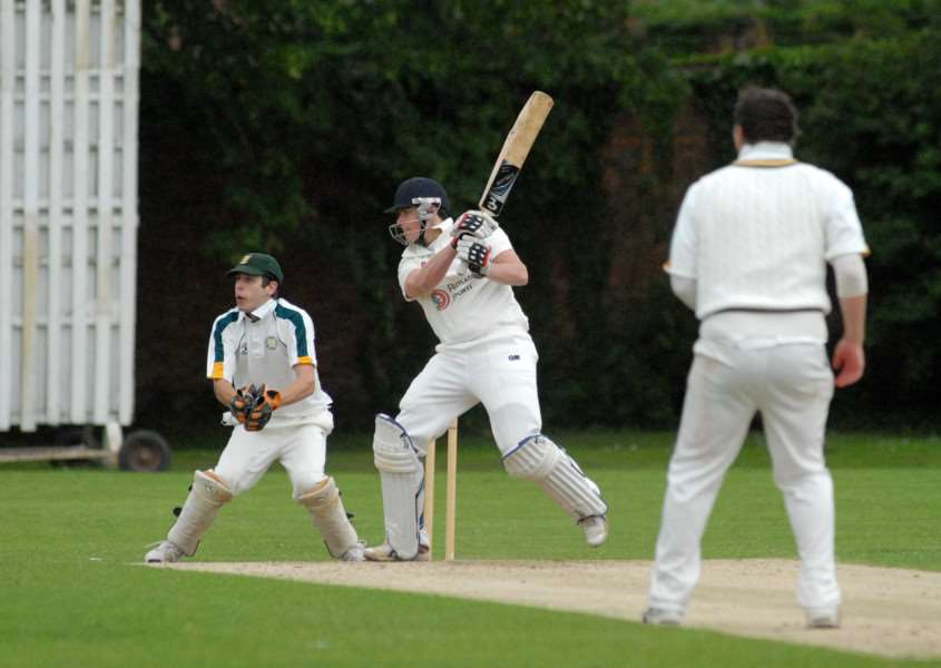 Tom Dixon cracked 80 for Bourne in their Rutland Division One win over Barnack.