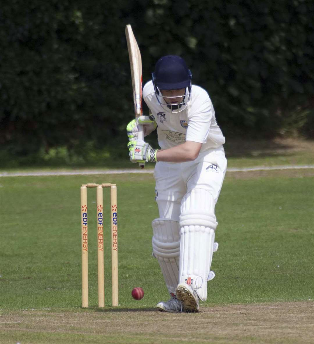 Cricket Action. Long Sutton v Billingborough. Pictured Billingboriugh Batsman.. (3666404)