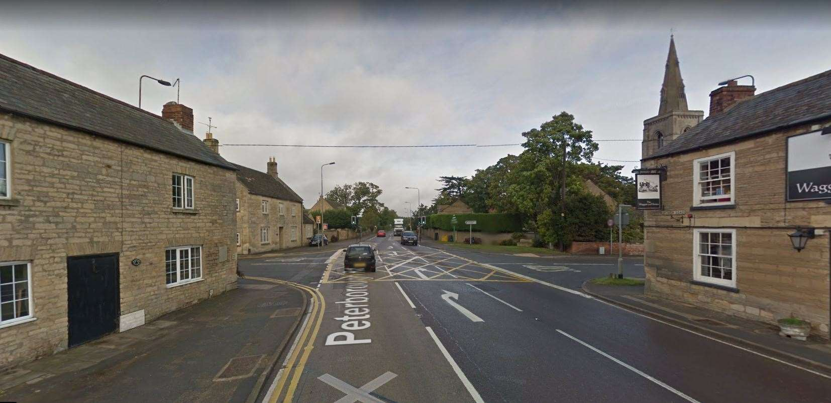 The A15 crossroad in Langtoft. Photo: Google Maps