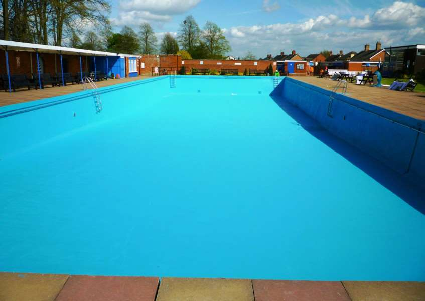 Bourne Outdoor Pool.