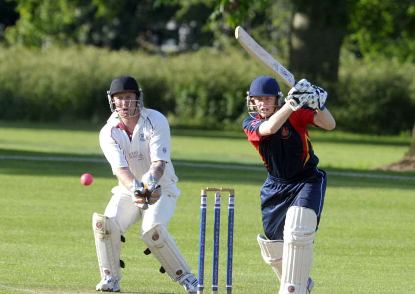 Josh Bowers made 66 for Wisbech at Ufford Park.