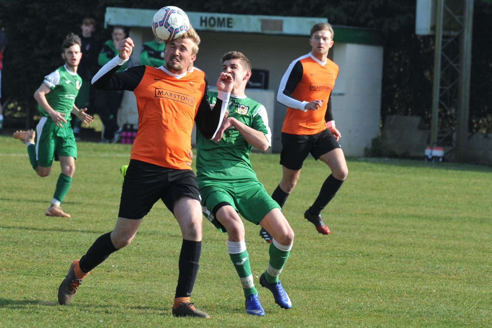Cottesmore ran out 3-0 winners against Barlestone St Giles on Saturday. Photo: Alan Walters (8188159)