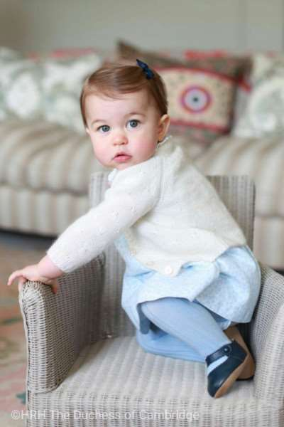 Princess Charlotte at Anmer, taken by the Duchess of Cambridge ANL-160205-112736001