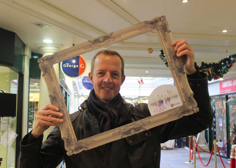 Stamford and Bourne MP Nick Boles (Con) takes part in Small Business Saturday. EMN-141112-162328001