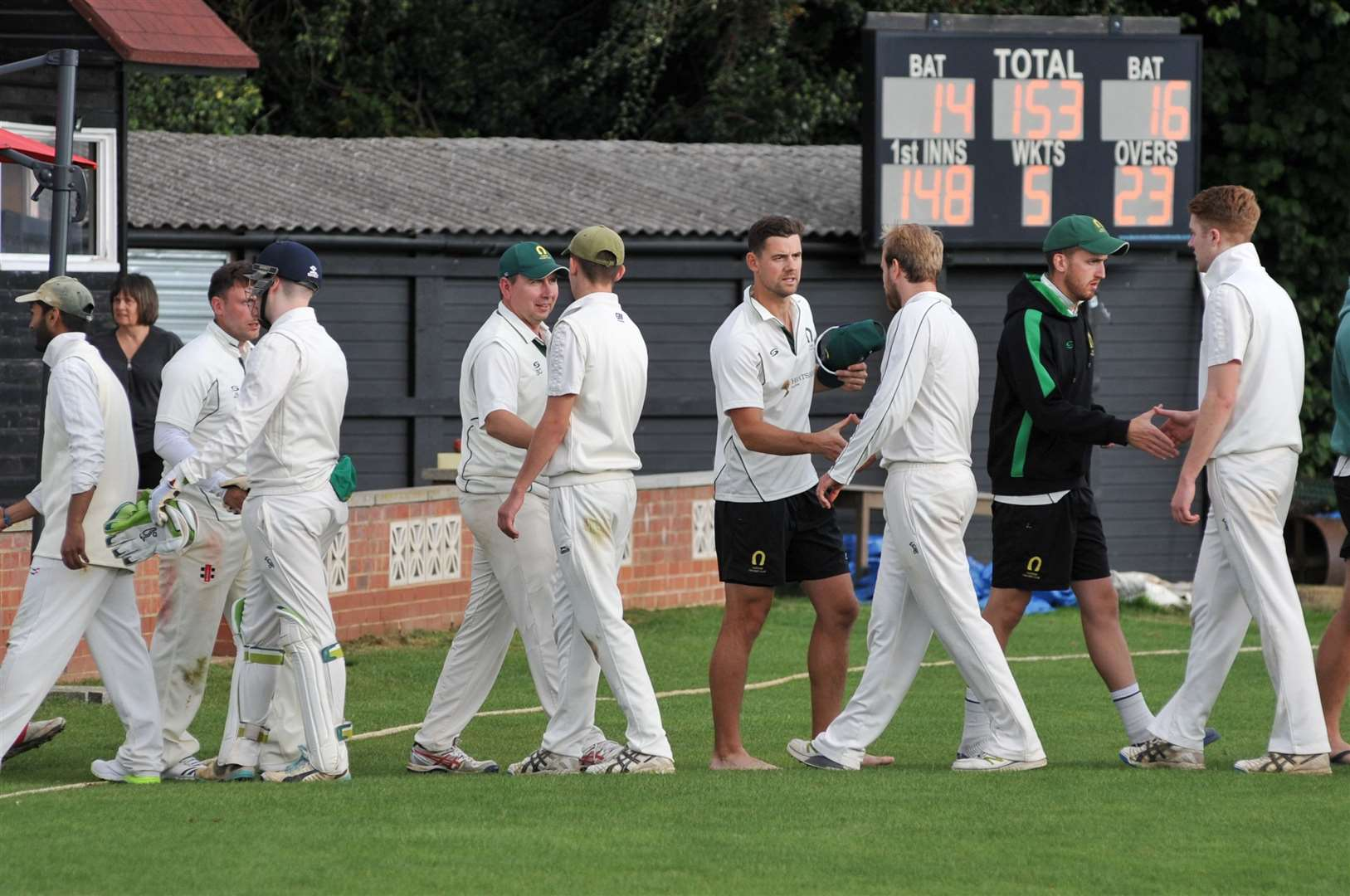 Oakham defeated Kibworth 2nds on Saturday. Photo: Alan Walters (16298802)